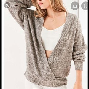 Silence&noise urban outfitters Deep V neck knit S